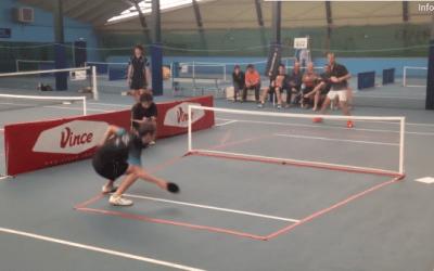 Vince Pong, le mariage du tennis et du tennis de table