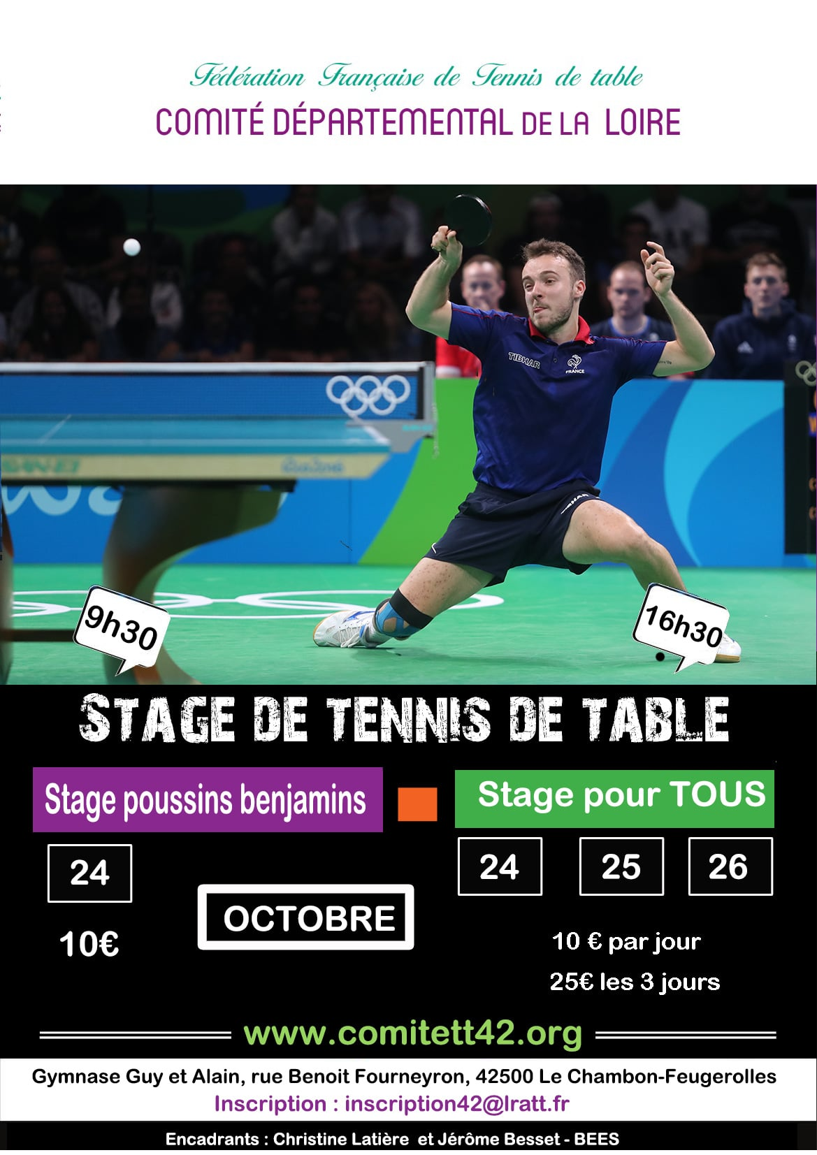 Stage départemental