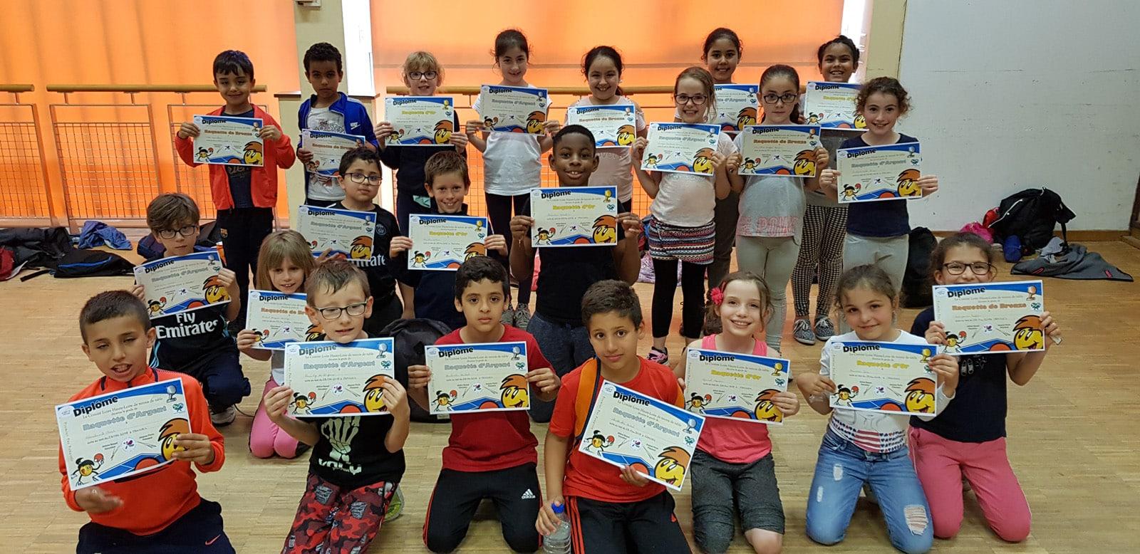 PPP – 3ème prix FFTT pour l'AL FRAISSES
