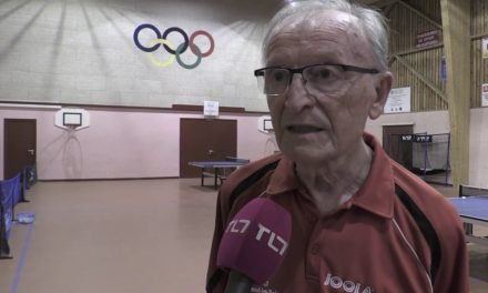 Jean DESSERTINE Champion de tennis de table à 82 ans