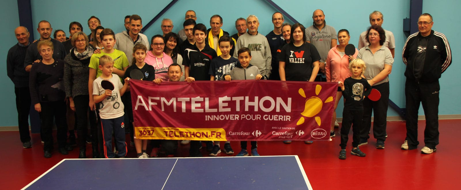 2 clubs de la Loire sur le podium du «Telethon»