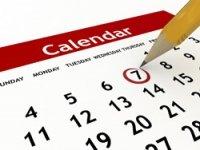 Les lieux et dates des organisations 2019-2020
