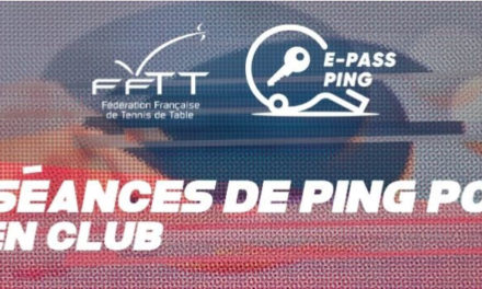 Inscription au E-Pass Ping