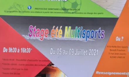 Stage de Ping-Pong (ouvert à tous) à UNIEUX