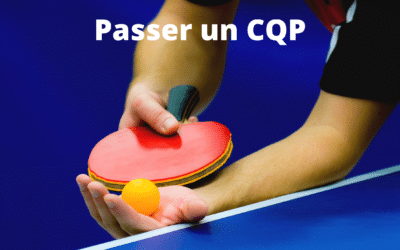 CQP (Certificat de Qualification Professionnelle) au tennis de Table